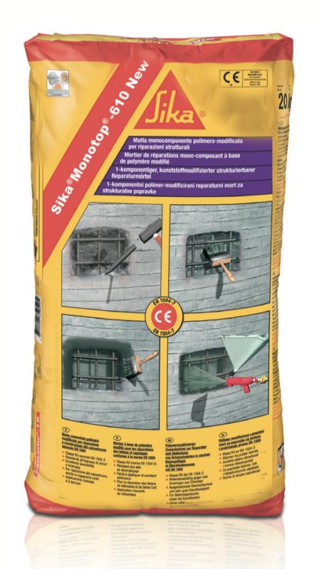 Sika Monotop 612 Concrete Repair Precon Products
