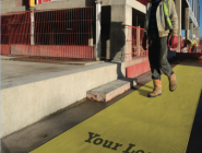Safety Walkway Yellow Matting illustration 432